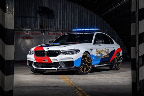 car bmw 2018 2018 bmw m5 motogp safety car exposed