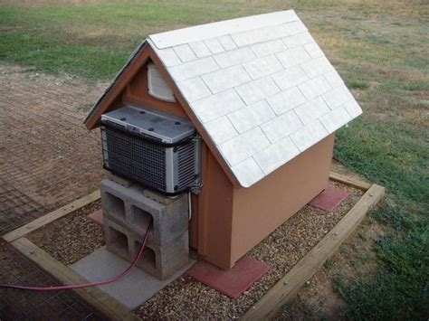 how to heat an outdoor dog house dog house with ac things for jeff pinterest ac dogs and dog houses