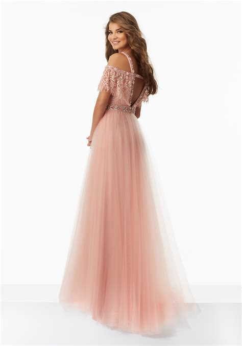 prom dresses nottingham formal dresses boho prom dress with lace bodice and tulle skirt style