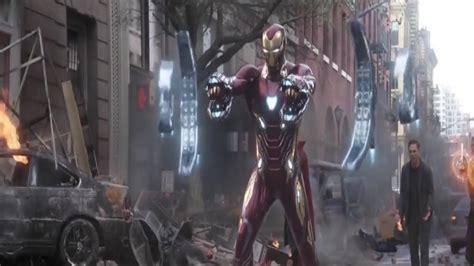 avengers infinity war iron man nanotech suit york