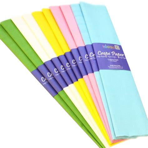 With Crepe Paper - crepe paper single colours pk10 bright ideas crafts