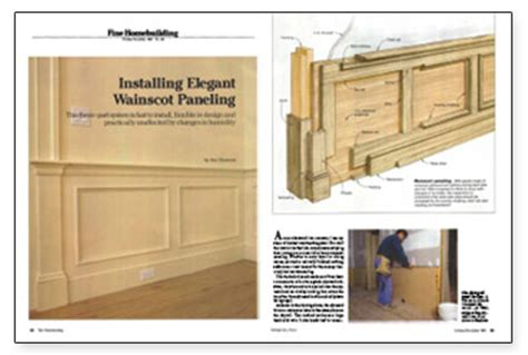 How To Put Up Wainscoting Panels by Installing Wainscot Paneling Homebuilding