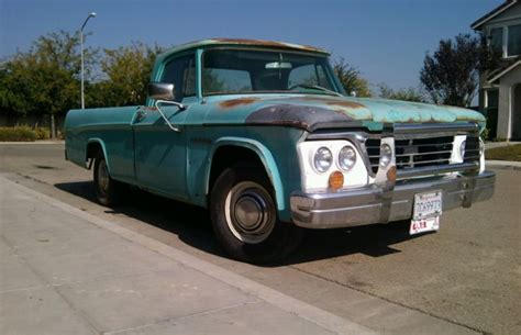 Original Dodge by Original 1964 Dodge Sweptline Truck D200 D100 Power