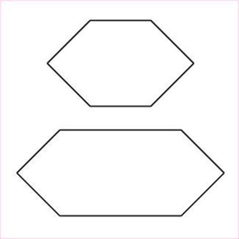 hexagon template for paper piecing 17 best images about templates on