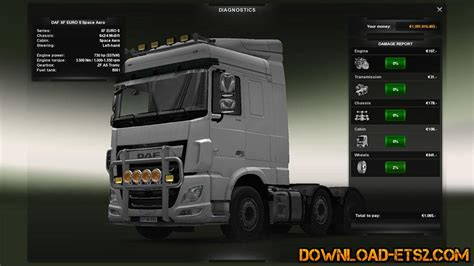 download mod game hp 730 hp mod for daf euro 6 by mastermoders 187 download ets 2
