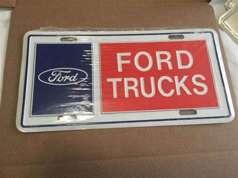 Find VINTAGE FORD TRUCKS LOGO LICENSE PLATE motorcycle in ... Range Rover Car Logo