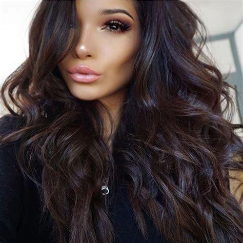 darkest color darkest brown hair color before black www imgkid