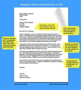 types of interest letters relentless cover letters and