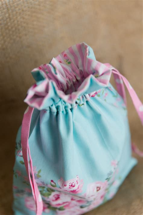 Travel Bag Shabby Chic shabby chic drawstring bag travel bag bag toiletry bag littleboppins madeit au