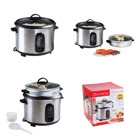 Multi Rice Cooker domoclip doc100a steamer rice cooker multi cooker pressure
