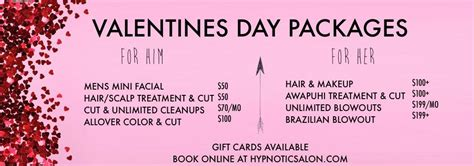 is there a haurdressers day specials and promotions at essential day spa party