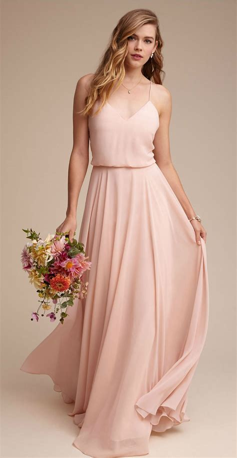color bridesmaid dresses 25 best ideas about chiffon bridesmaid dresses on