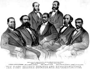 23 african americans were elected to congress before the