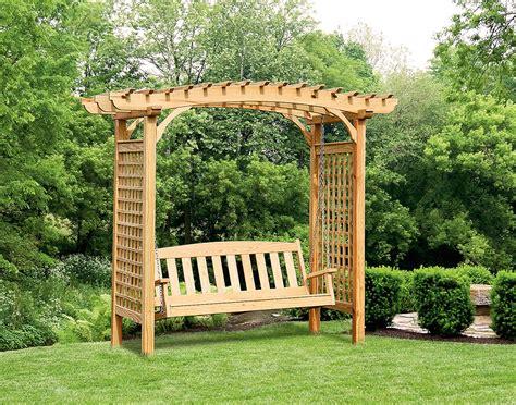 garden swing garden swings the enchanting element in your backyard