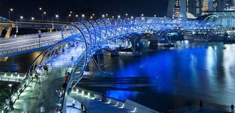 helix bridge helix bridge singapore cox rayner architects e architect