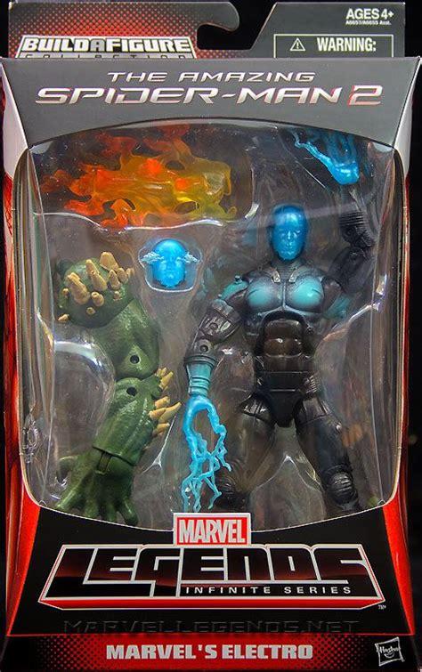 Marvel Legends Invinite Electro marvellegends net marvel legends ultimate green goblin