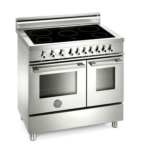 electric induction oven range range cooker bertazzoni professional 90 induction top and electric oven range cooker