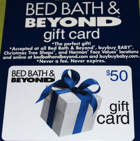 bed bath and beyond card 50 bed bath and beyond flash giveaway acadiana s