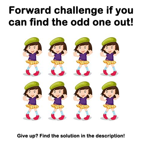 the odd one out 0763671274 braindare com can you find the odd one out