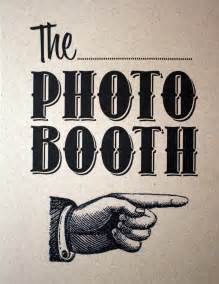 Chalkboard photo booth sign printabelle