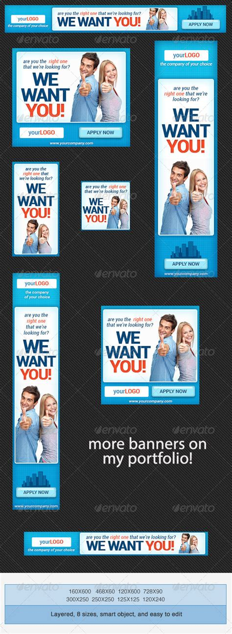 Corporate Psd Banner Ad Template 4 Graphicriver Banner Ad Templates