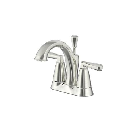 ultra faucets 4 in centerset 2 handle bathroom faucet