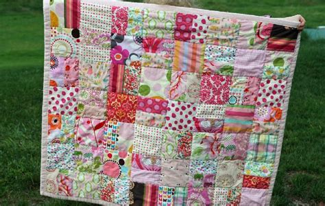 How To Make Baby Quilts by You To See Scrap Color Baby Quilt By Gingercake