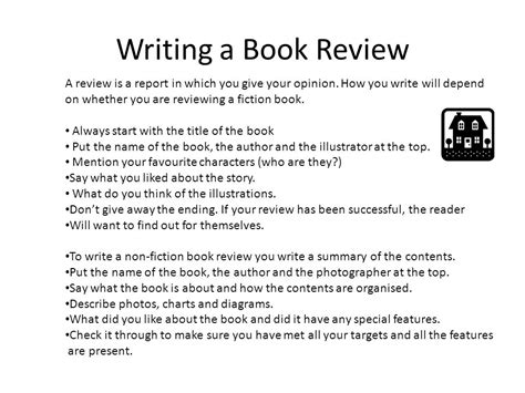 how to write a book report features of report genre writing ppt