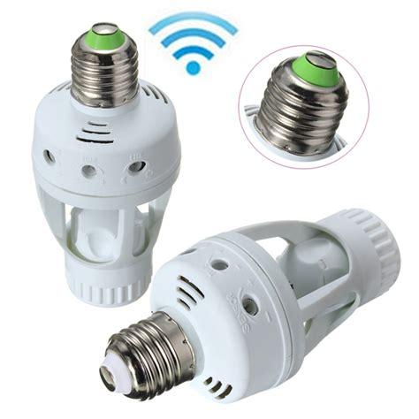 Motion Sensor Attachment For Outdoor Light E27 Infrared Pir Motion Sensor Light Bulb Switch Holder Converter Sale Banggood