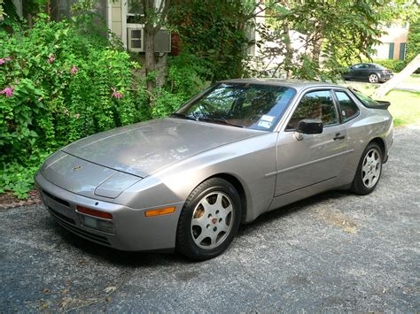 porsche 944 silver 1988 porsche 944 turbo silver for sale german cars