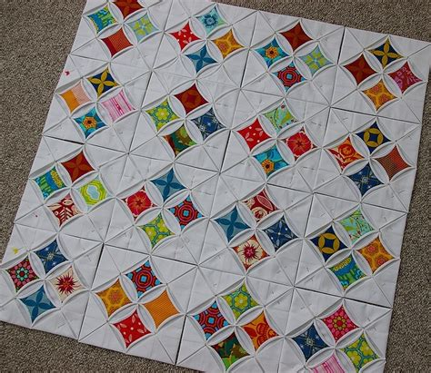 Cathedral Quilt Pattern by Cathedral Window Quilt Quilts