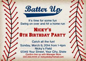 baseball themed invitation template baseball birthday invitations 16 free psd vector eps