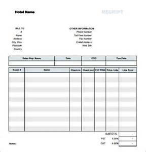 Download Free Receipt Template Simple Receipt Template 7 Free Download For Pdf