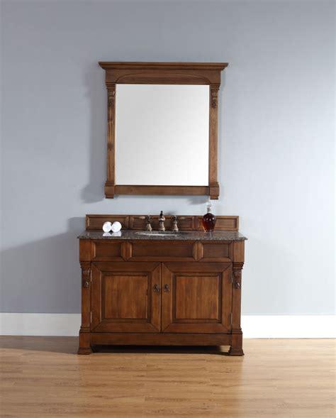 Country Vanity Sink by 48 Inch Single Sink Bathroom Vanity In Country Oak