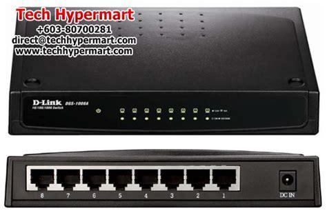 D Link Dsg 1008a 8 Port Gigabit Easy Desktop Switch d link dgs 1008a gigabit ethernet unmanaged switch