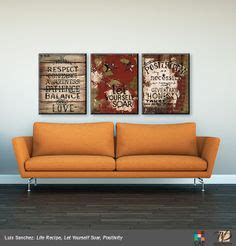 U28 Walldecor Poster Vintage Shabbychic for the walls on office wall decor