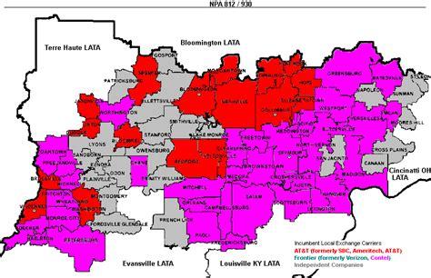 kentucky lata map southern indiana telecom indiana