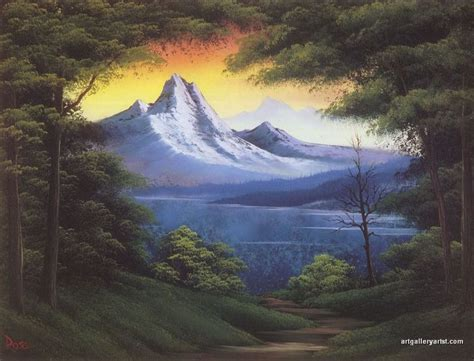 bob ross painting gallery 1084 best obr 225 zky images on naive folk