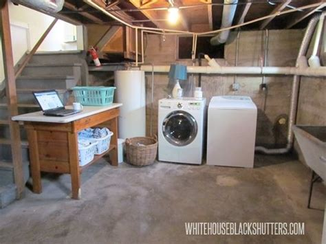 27  Coolest Basement Laundry Room Ideas   Basement Laundry