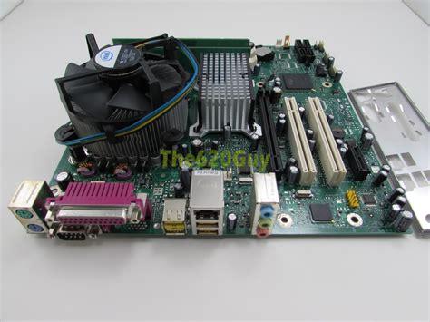 Ram Cpu Pentium 4 intel d945plnm motherboard d30652 308 pentium 4 3 4ghz cpu 1gb ram hsf i o ebay