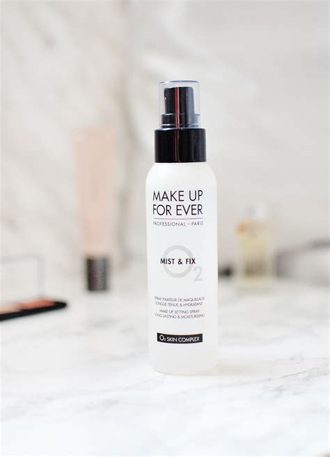 Makeup Forever Mist And Fix make up for mist fix setting spray review thefantasia