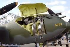 photo up view of a p 38g lightning aircraft