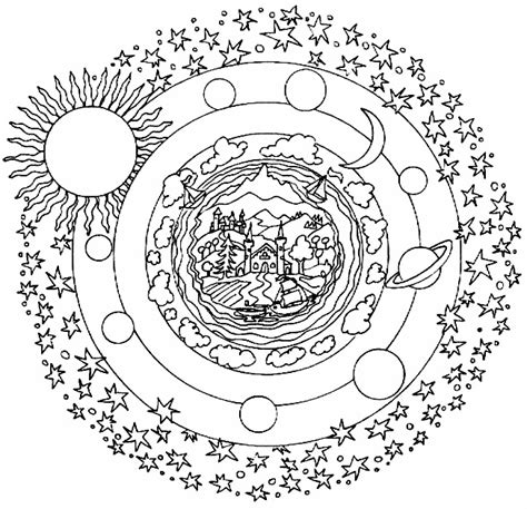 sun mandala coloring pages free coloring pages of sun mandalas