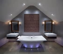 Upscale Bathroom Lighting Luxury Bathroom Contemporary Bathroom By Future Light Design