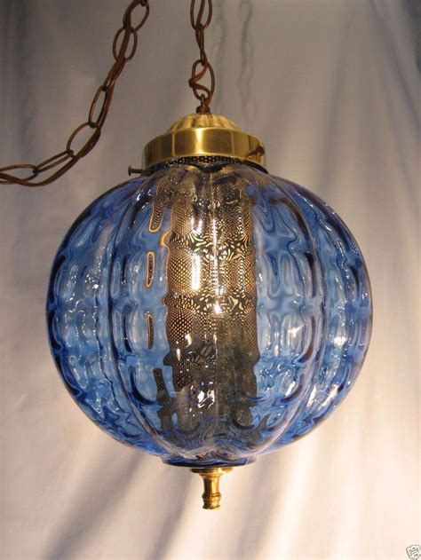 1960s Vintage Mid Century Modern Retro Hanging Or Swag Swag Lights