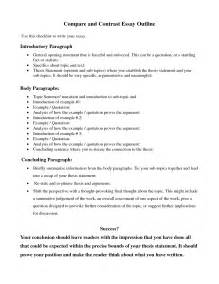 Thesis Exles For Compare And Contrast Essay by Compare And Contrast Essay Template Search Results Calendar 2015