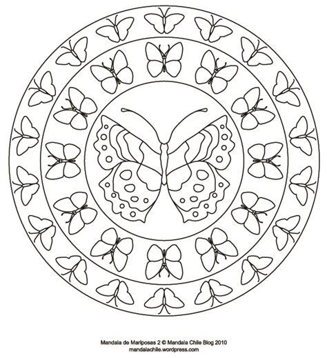 imagenes de mandalas navideñas para pintar dibujos de mandalas de mariposas para pintar colorear