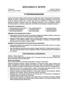 non profit program director resume sle resume sles