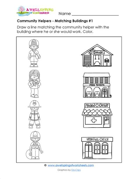 color place place clipart community worksheet pencil and in color