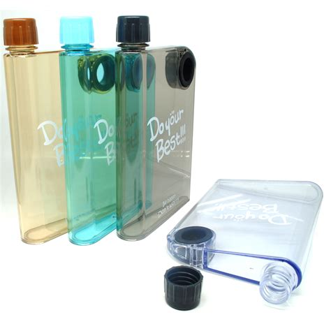 Botol Kaca Spray 35 Ml memobottle botol minum flat 380ml clear black jakartanotebook